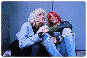 Courtney Love and Kurt Cobain - Image by © Dora Handel/CORBIS OUTLINE