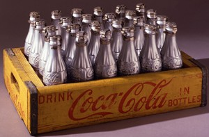 Andy Warhol Silver Coke Bottles 1967 Collezione Brant Foundation © The Brant Foundation, Greenwich (CT), USA © The Andy Warhol Foundation for the Visual Arts Inc. by SIAE 2014