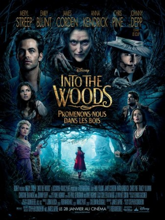 into the woods-poster